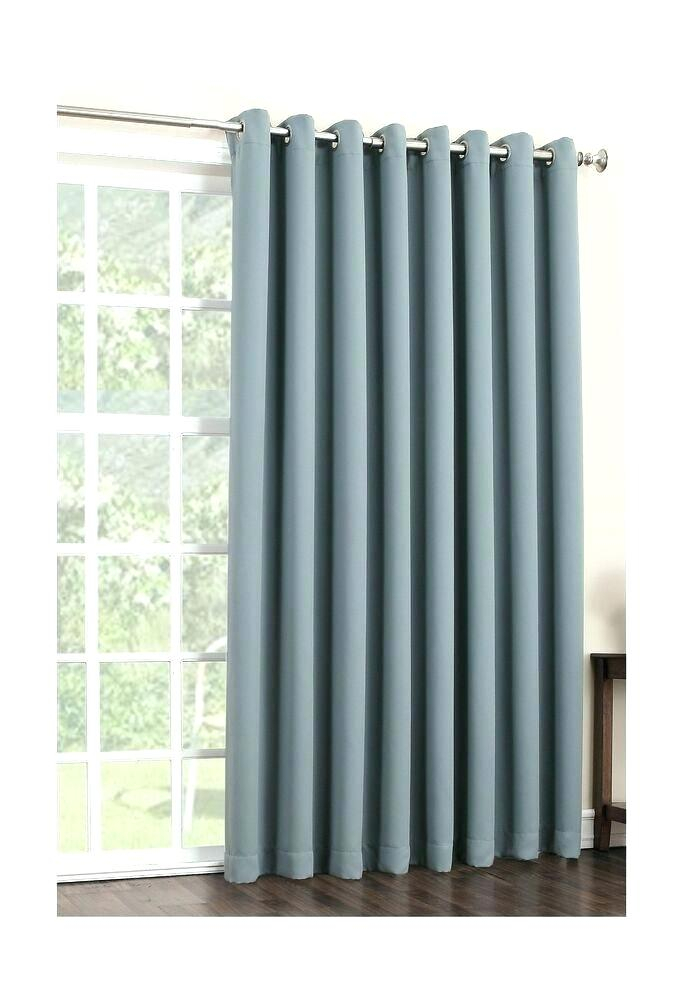 Grommet Patio Door Curtains – Ulahealth Pertaining To Grommet Blackout Patio Door Window Curtain Panels (View 7 of 50)