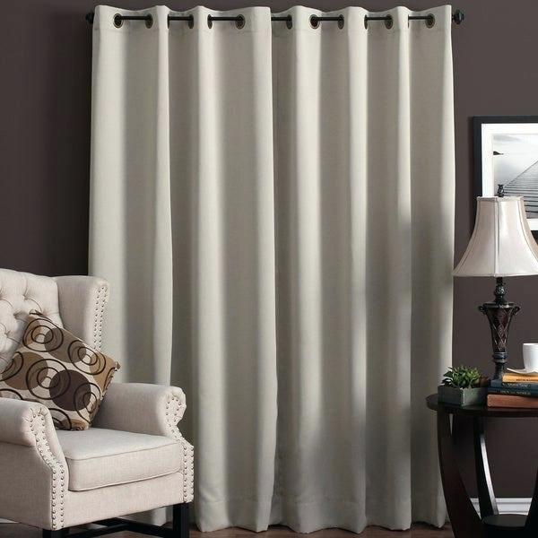 Grommet Patio Panel Bamboo Door Panels Drapes With Grommets Regarding Patio Grommet Top Single Curtain Panels (#11 of 38)
