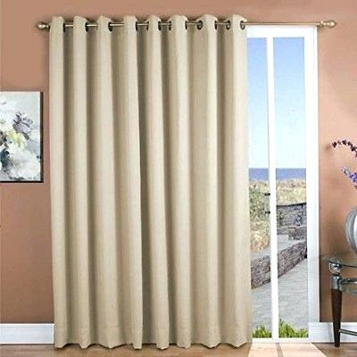 Grommet Patio Panel Madison Park Westmont Fretwork Print Top For Fretwork Print Pattern Single Curtain Panels (View 13 of 46)