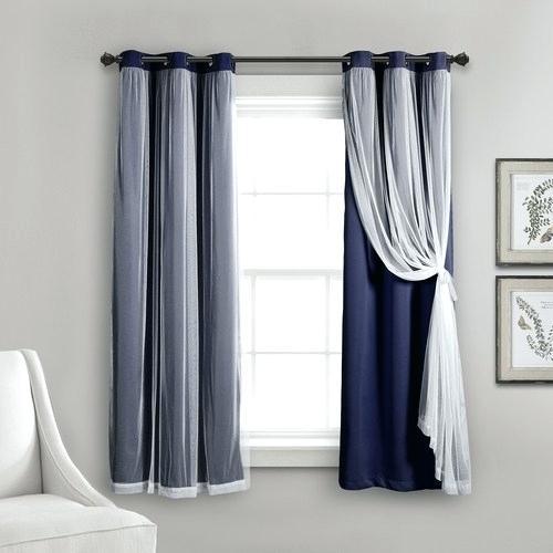 Grommet Sheer Light Filtering Window Panel Panels Abri Regarding Delano Indoor/outdoor Grommet Top Curtain Panel Pairs (View 11 of 45)