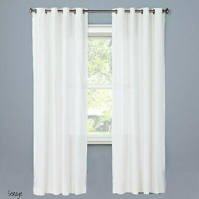 "Grommet Single Curtain Panel – Threshold Cream 54"" X 84 Pertaining To Hayden Grommet Blackout Single Curtain Panels (View 15 of 39)"