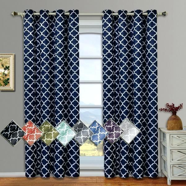 Grommet Thermal Blackout Window Curtains Panels Pair Luxury With Regard To Insulated Thermal Blackout Curtain Panel Pairs (#25 of 50)