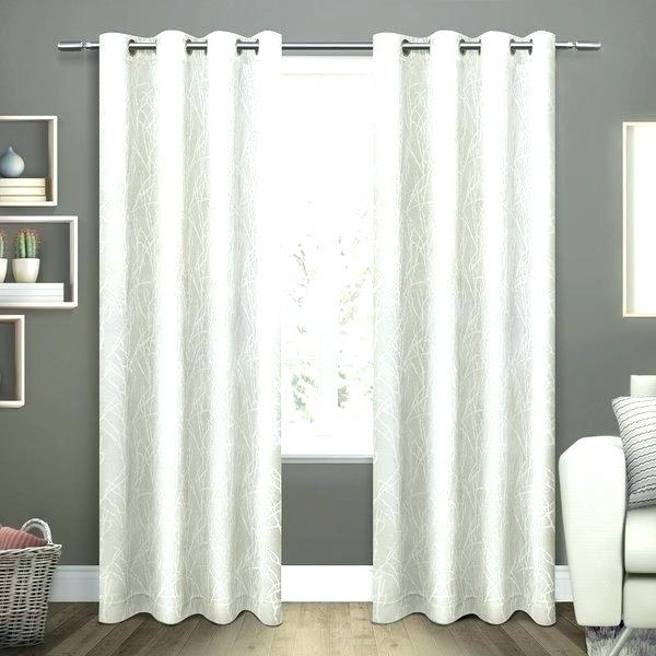 Grommet Top Blackout Curtains – Opcregiondemurcia Within Forest Hill Woven Blackout Grommet Top Curtain Panel Pairs (#24 of 45)