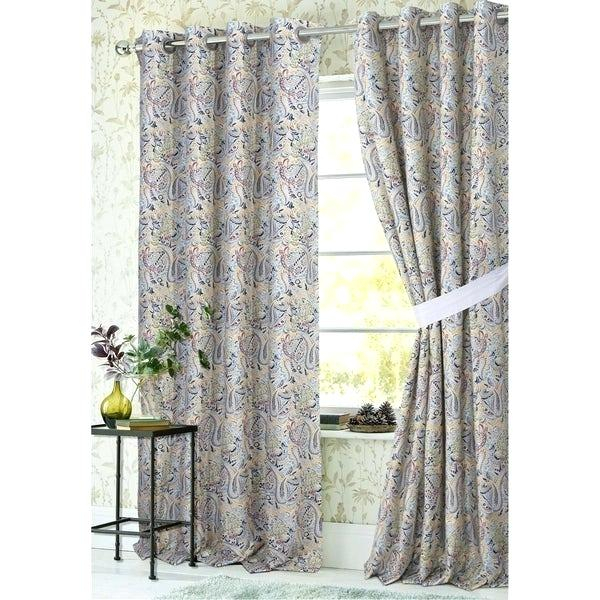 Grommet Top Curtain Panels – Loriannsandstrom (#18 of 41)