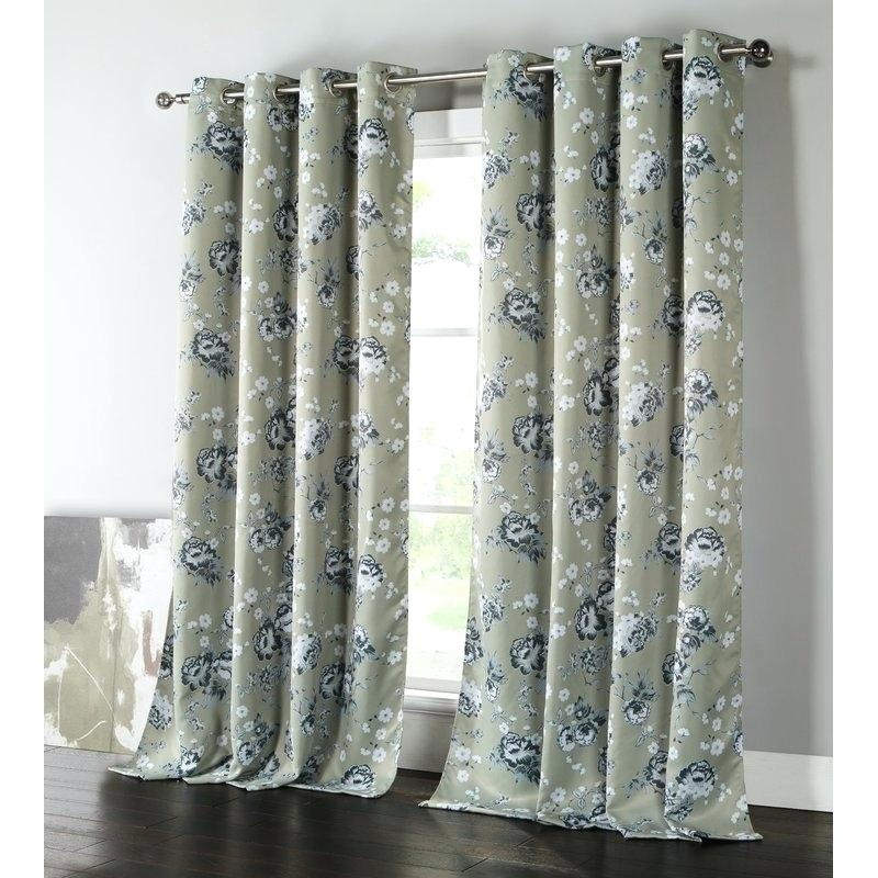 Grommet Top Curtain Panels – Loriannsandstrom (View 40 of 50)