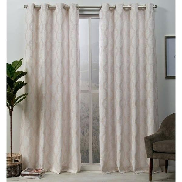Grommet Top Curtain Panels Studio Delano Sheer Panel Easy Within Cooper Textured Thermal Insulated Grommet Curtain Panels (View 18 of 50)