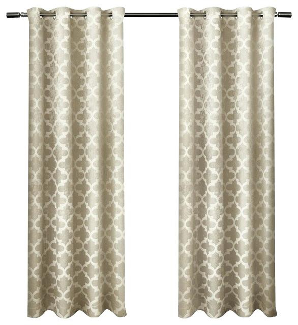 Grommet Top Curtains – Equineangelsoftherockies For Woven Blackout Curtain Panel Pairs With Grommet Top (#29 of 42)
