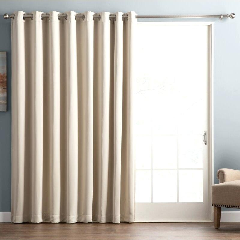 Grommet Top Outdoor Curtain Panel – Locatable With Indoor/outdoor Solid Cabana Grommet Top Curtain Panel Pairs (View 3 of 48)