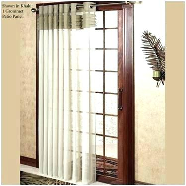 Grommet Top Patio Panels – Platoeinsteinandgod Inside Patio Grommet Top Single Curtain Panels (#12 of 38)