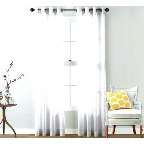 Grommet Top Sheer Curtains – Darango Within Baroque Linen Grommet Top Curtain Panel Pairs (View 30 of 48)