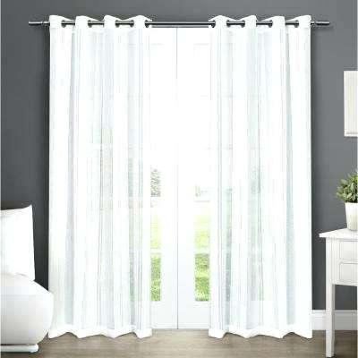 Grommet Top Sheer Curtains – Jelajah For Delano Indoor/outdoor Grommet Top Curtain Panel Pairs (View 27 of 45)