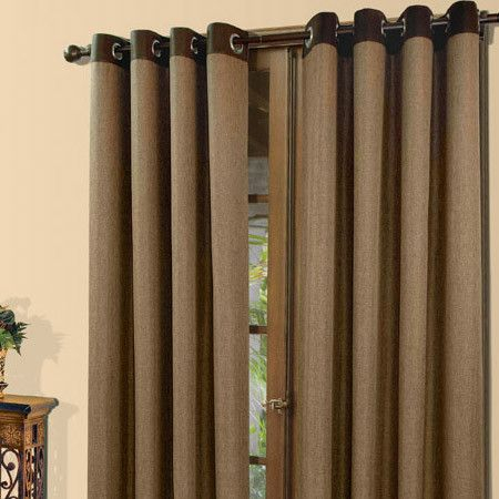 Grommet Topped Curtain Panel With A Herringbone Motif And Throughout Luxury Collection Faux Leather Blackout Single Curtain Panels (View 27 of 42)