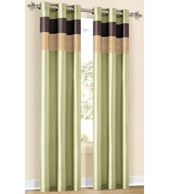 Grommet Window Curtain Panel Eclipse Blackout Payton Top Inside Copper Grove Speedwell Grommet Window Curtain Panels (#19 of 50)