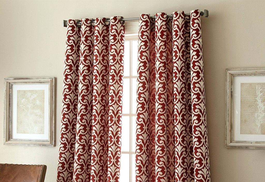 Grommet Window Curtain Panel Eclipse Blackout Payton Top Pertaining To Eclipse Newport Blackout Curtain Panels (View 29 of 41)