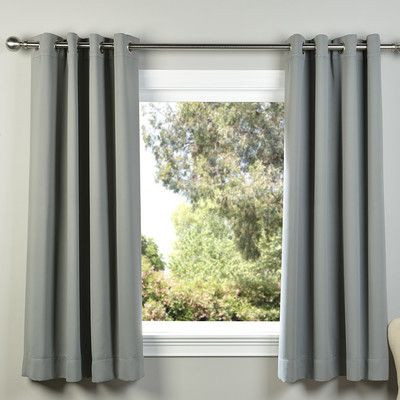 Half Price Drapes Plush Solid Blackout Thermal Grommet With Luxury Collection Monte Carlo Sheer Curtain Panel Pairs (#8 of 29)