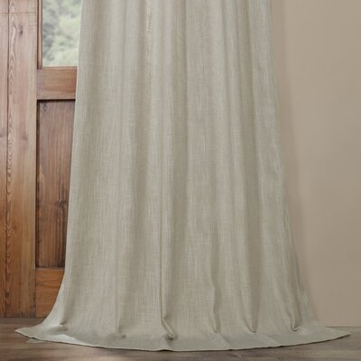 Half Price Drapes Solid Room Darkening Rod Pocket Single With Regard To Bark Weave Solid Cotton Curtains (View 26 of 50)