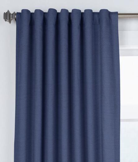 Hayden Grasscloth Lined Rod Pocket Curtains With Back Tabs In Hayden Rod Pocket Blackout Panels (#20 of 43)