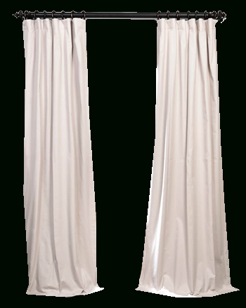 "Hazelwood Beige Solid Cotton Blackout Curtain 50""x96"" Within Solid Cotton True Blackout Curtain Panels (View 12 of 50)"