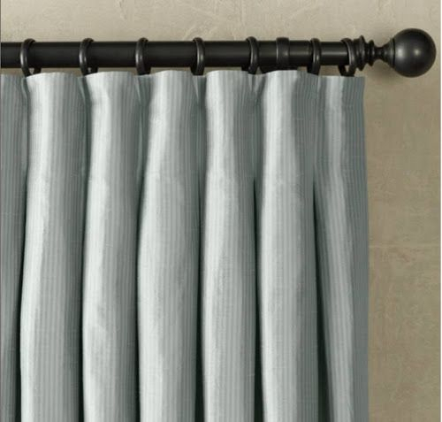 High Street Market: Designer Tip: Inverted Box Pleat Drapery In Solid Cotton Pleated Curtains (#19 of 50)