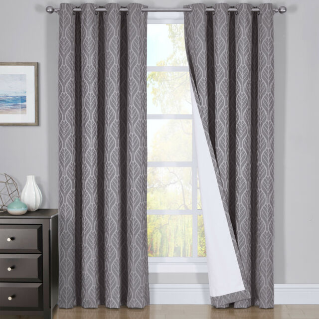 Popular Photo of Thermal Insulated Blackout Curtain Pairs