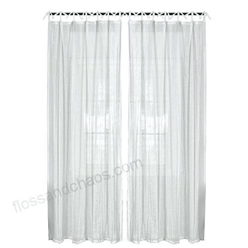 Home Fashions Juvenile Tween Tab Top Sheer Single Panel With Elrene Aurora Kids Room Darkening Layered Sheer Curtains (View 26 of 40)