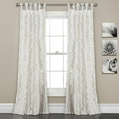 Home & Garden, Window Treatments & Hardware, Curtains Intended For Luxury Collection Monte Carlo Sheer Curtain Panel Pairs (#11 of 29)
