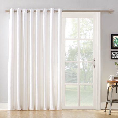 Home | Home Decor In 2019 | Glass Door Curtains, Door With Regard To Grommet Blackout Patio Door Window Curtain Panels (View 12 of 50)