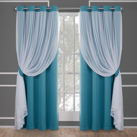 Home In 2019 | Curtains, Panel Curtains, Home Curtains Within Solid Grommet Top Curtain Panel Pairs (View 3 of 35)