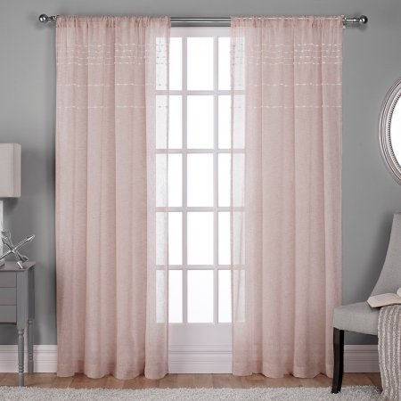 Home | Products In 2019 | Panel Curtains, Exclusive Homes For Belgian Sheer Window Curtain Panel Pairs With Rod Pocket (View 34 of 46)