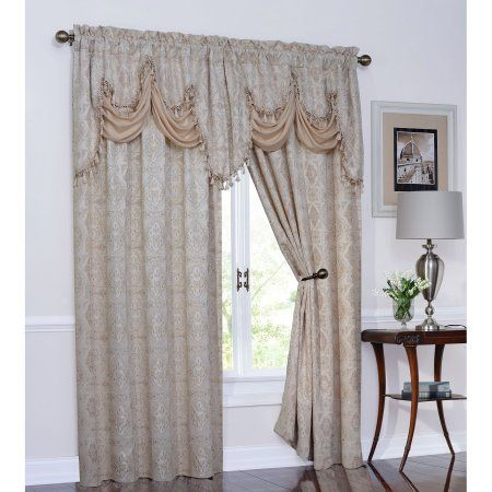 Home | Products | Rod Pocket Curtains, Panel Curtains, Curtains In Elegant Comfort Luxury Penelopie Jacquard Window Curtain Panel Pairs (View 28 of 50)
