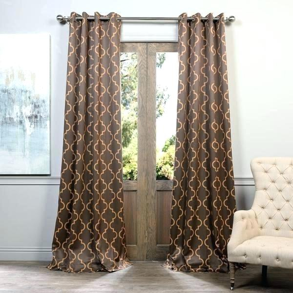 Home Woven Blackout Curtain Panel Pair With Grommet Top Inside Moroccan Style Thermal Insulated Blackout Curtain Panel Pairs (View 20 of 50)
