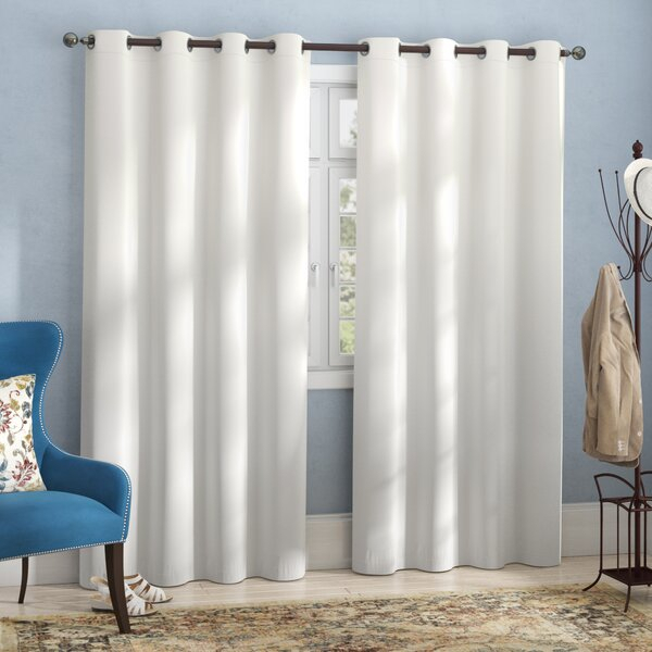 Hotel Curtains | Wayfair In Classic Hotel Quality Water Resistant Fabric Curtains Set With Tiebacks (#19 of 50)