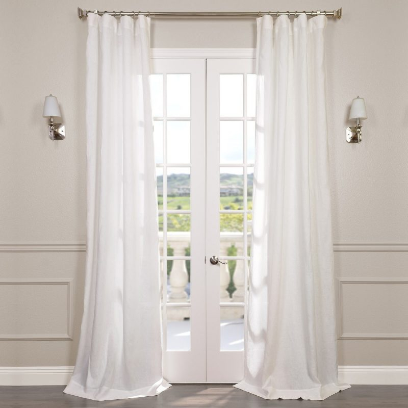 How To Get Less Expensive Curtains That Look Great! | Laurel Inside French Linen Lined Curtain Panels (#24 of 50)