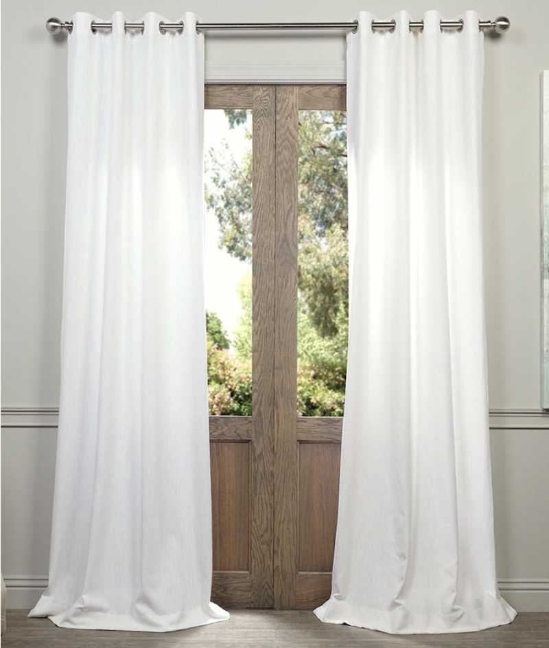 How To Get Less Expensive Curtains That Look Great! | Laurel Pertaining To Heavy Faux Linen Single Curtain Panels (View 21 of 32)