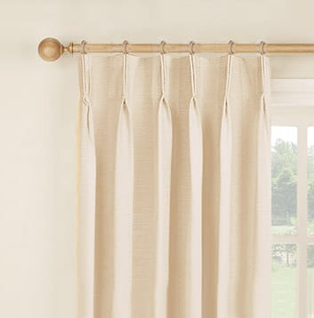 How To Hang Curtains | Easy To Follow & Detailed Guide On With Double Pinch Pleat Top Curtain Panel Pairs (#19 of 50)