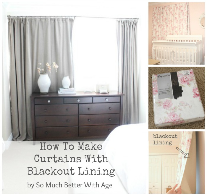 How To Make Curtains With Blackout Lining | So Much Better Throughout French Linen Lined Curtain Panels (View 26 of 50)