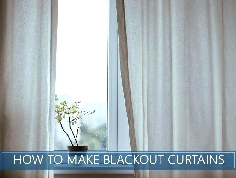 How To Make Sheer Curtains Blackout – Coolgirlidol (View 24 of 50)