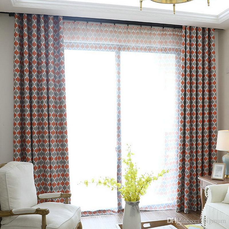 How To Sew Blackout Curtains For Primebeau Geometric Pattern Blackout Curtain Pairs (#23 of 38)