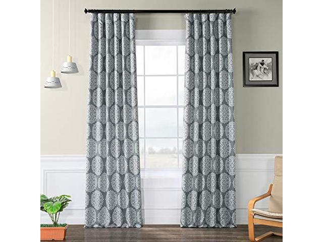 Hpd Half Price Drapes Bochkc109B84 Meridian Blackout Room Darkening Curtain  50 X 84 Gold – Newegg Pertaining To Meridian Blackout Window Curtain Panels (#34 of 50)
