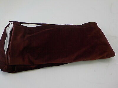 Hpd Vpyc 161252 84 – Heritage Plush Velvet Curtain Panel, 50 X 84, Dark  Merlot 711081316248 | Ebay For Heritage Plush Velvet Curtains (View 31 of 50)