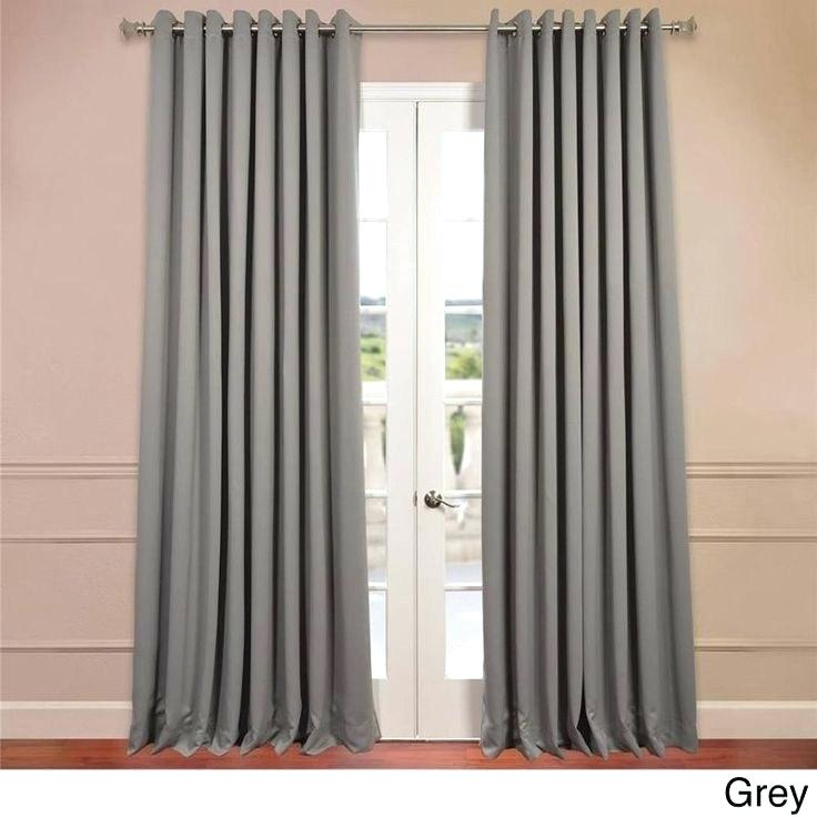 Inspiration about Image 0 84 Inch Curtains Country Length Curtain Panels With Solid Insulated Thermal Blackout Long Length Curtain Panel Pairs (#28 of 50)