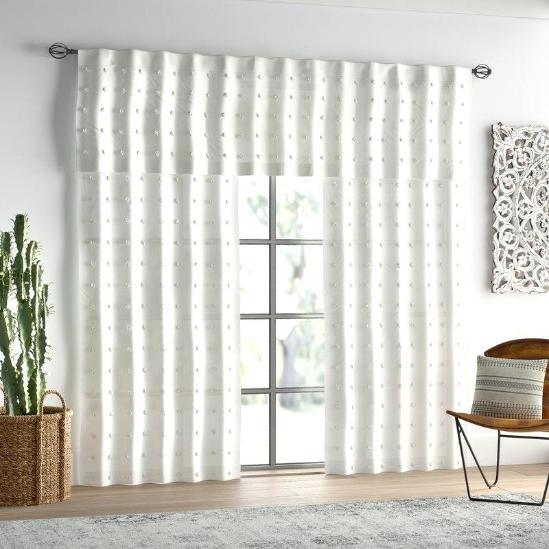 Image 0 Cotton Curtain Panels White Tab Top Curtains In Solid Cotton Curtain Panels (View 44 of 47)