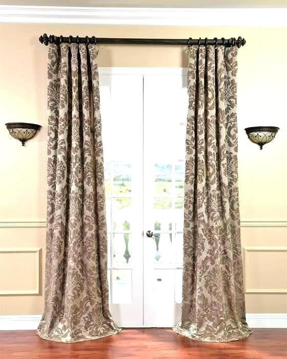 Inspiration about Inch Curtain Panels Blackout 90 Curtains Aurora Home Thermal Intended For Solid Insulated Thermal Blackout Long Length Curtain Panel Pairs (#2 of 50)