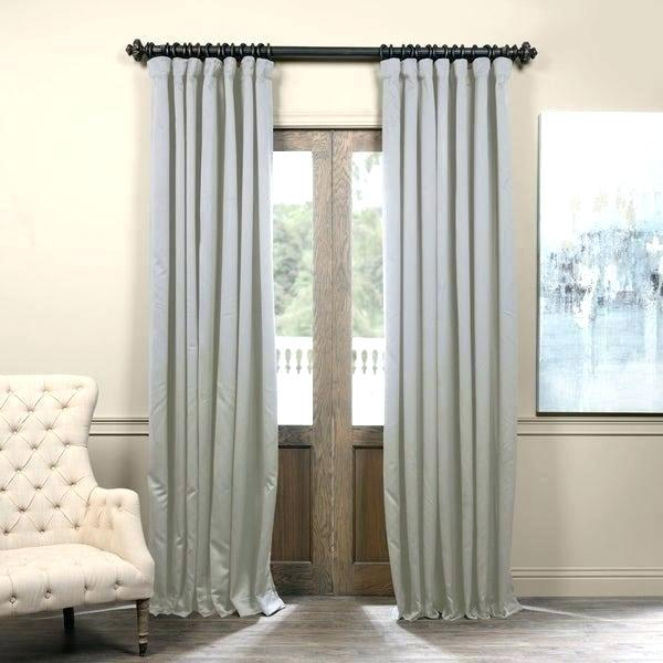 Inch Thermal Curtains Exclusive Fabrics Extra Wide Blackout With Signature Extrawide Double Layer Sheer Curtain Panels (#28 of 50)