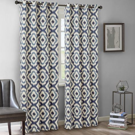 Ink+Ivy Ankara Cotton Printed Panel In 2019   Malone Inside Ink Ivy Ankara Cotton Printed Single Curtain Panels (View 5 of 50)