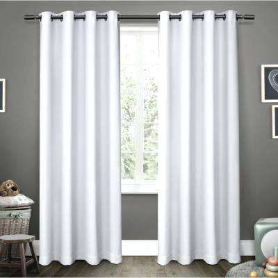 Inspiration about Insulated Blackout Curtains Regarding Twig Insulated Blackout Curtain Panel Pairs With Grommet Top (#31 of 50)