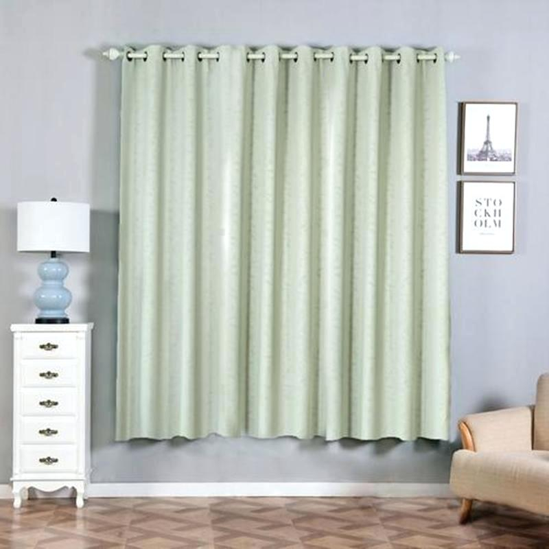 Inspiration about Insulated Blackout Curtains – Yildizkurt.co Within Twig Insulated Blackout Curtain Panel Pairs With Grommet Top (#9 of 50)