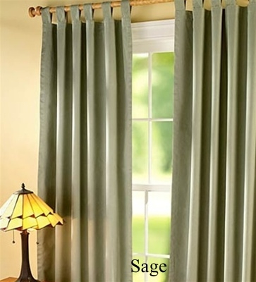 Insulated Curtains, Stop Drafts, Keep Out Cold, Keep Out With Insulated Cotton Curtain Panel Pairs (#23 of 50)