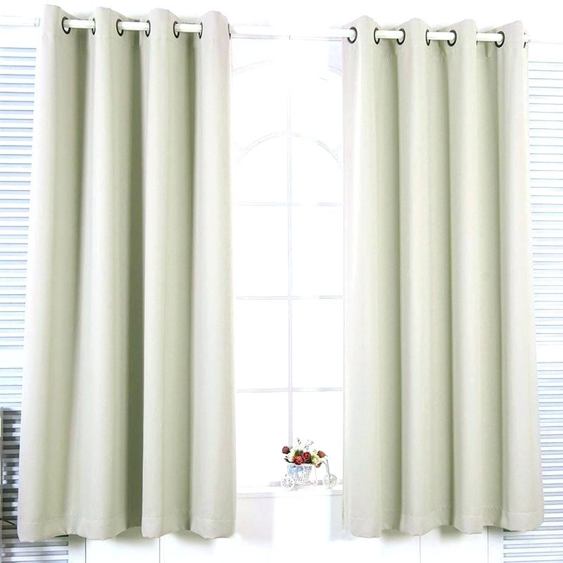 Insulated Grommet Curtains – Clicq Inside Superior Solid Insulated Thermal Blackout Grommet Curtain Panel Pairs (#29 of 45)