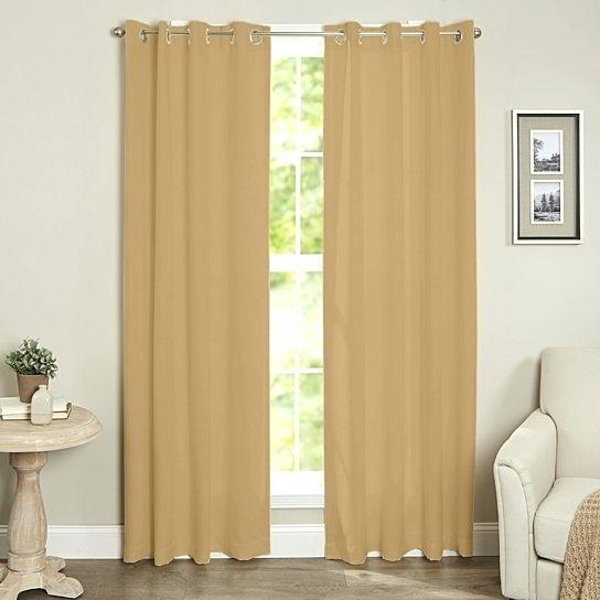 Inspiration about Insulated Grommet Curtains – Clicq Within Cooper Textured Thermal Insulated Grommet Curtain Panels (#18 of 50)